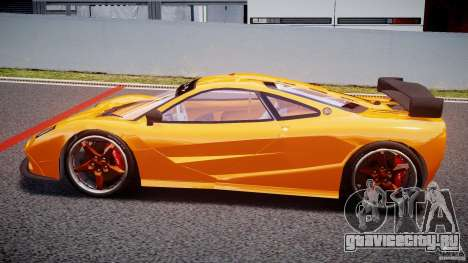 Mc Laren F1 LM v1.0 для GTA 4 вид слева