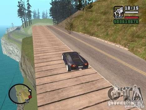 Проезд над океаном (Beta версия) для GTA San Andreas второй скриншот