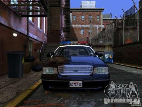 Ford Crown Victoria LAPD v1.1 [ELS] для GTA 4