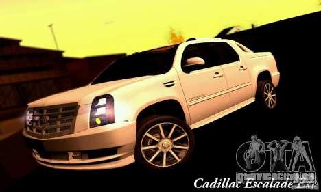 Cadillac Escalade Ext для GTA San Andreas