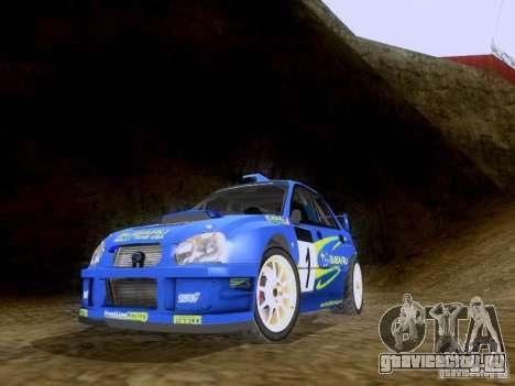 Subaru Impreza WRC 2003 для GTA San Andreas