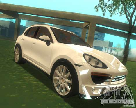 Porsche Cayenne 958 2010 V1.0 для GTA San Andreas вид сзади