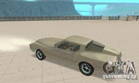 Buick Riviera 1972 Boattail для GTA San Andreas вид сзади