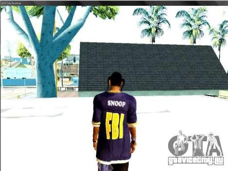 Snoop DoG в F.B.I. для GTA San Andreas третий скриншот