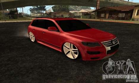 Volkswagen Touareg Dag Style для GTA San Andreas