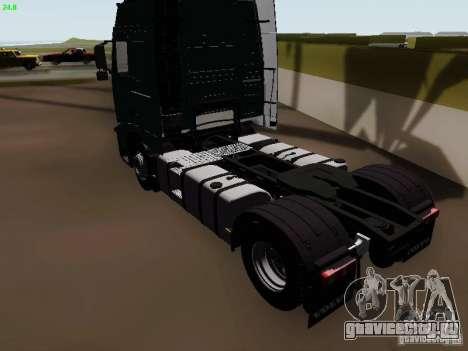Volvo FH13 Globetrotter для GTA San Andreas вид справа