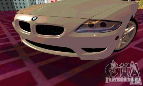 BMW Z4 E85 M для GTA San Andreas колёса
