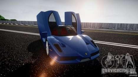 Ferrari Enzo для GTA 4 вид сверху