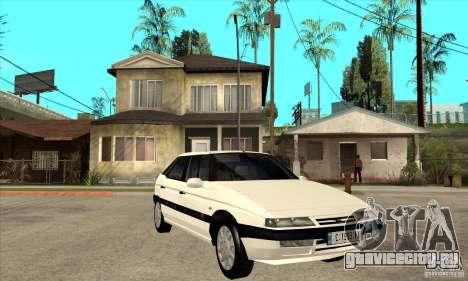Citroen XM 1992 для GTA San Andreas вид сзади