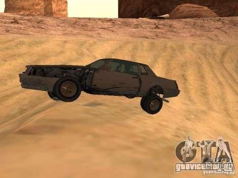 Emperor Rusty из GTA 4 для GTA San Andreas вид слева