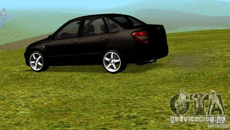 Лада Гранта v2.0 для GTA San Andreas вид слева