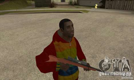 Райдер - Плейбой Х для GTA San Andreas второй скриншот