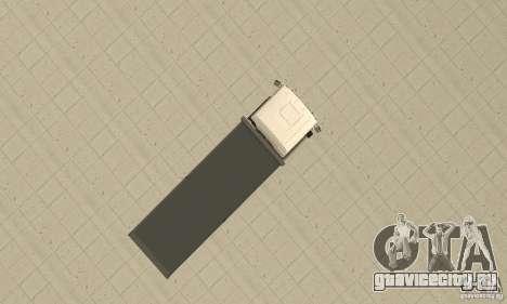 MAN TGL для GTA San Andreas вид справа