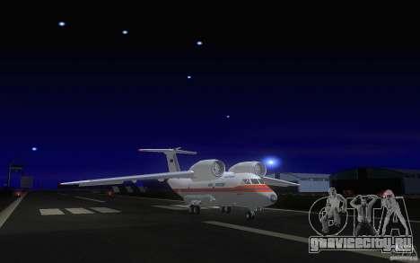 Antonov 74 для GTA San Andreas вид слева