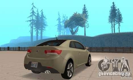 Kia Forte Koup 2010 для GTA San Andreas вид слева