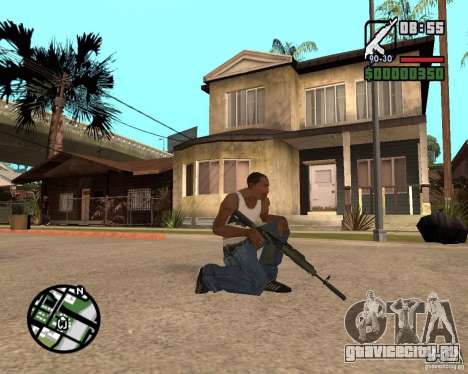 AK-47 from GTA 5 v.1 для GTA San Andreas второй скриншот