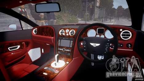 Bentley Continental GT 2004 для GTA 4 вид справа