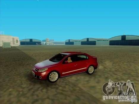 Volkswagen Voyage Comfortline 1.6 2009 для GTA San Andreas вид справа