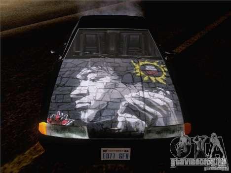 Винил Виктор Цой для GTA San Andreas вид слева