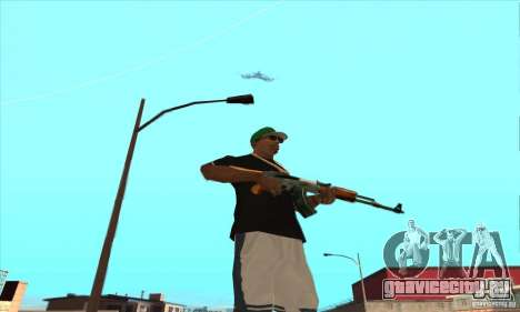 WEAPON BY SWORD для GTA San Andreas десятый скриншот