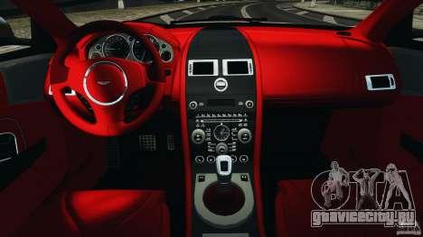 Aston Martin DBS Volante [Final] для GTA 4 вид сзади