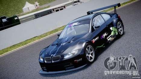 BMW M3 GT2 Drift Style для GTA 4 вид изнутри