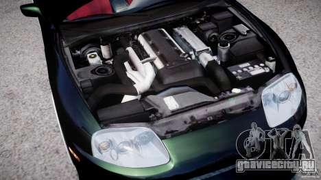Toyota Supra JZA80 для GTA 4 вид сзади