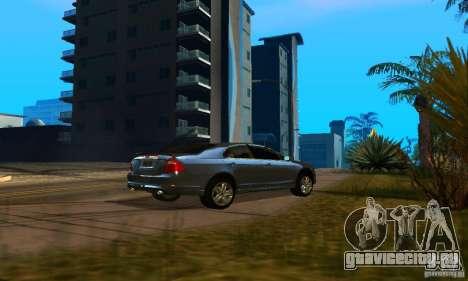 Ford Fusion Sport для GTA San Andreas вид сзади слева