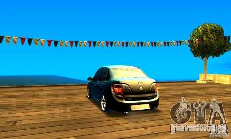 Lada Granta v2.0 для GTA San Andreas вид сзади слева