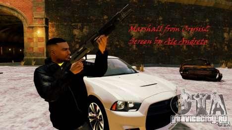 Marshall из Crysis 2 для GTA 4