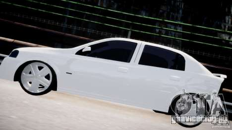 Chevrolet Astra Advantage 2009 для GTA 4 вид слева