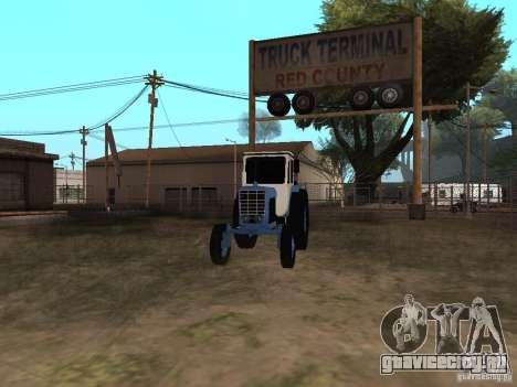 МТЗ 52 для GTA San Andreas вид справа