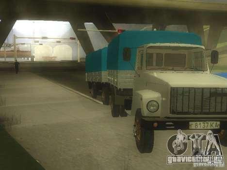 ГАЗ 3307 для GTA San Andreas вид слева