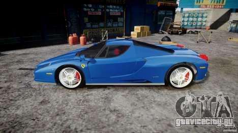 Ferrari Enzo для GTA 4 вид слева