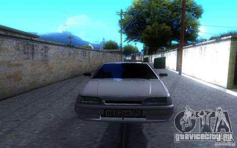 ВАЗ 2114 LT для GTA San Andreas вид сзади