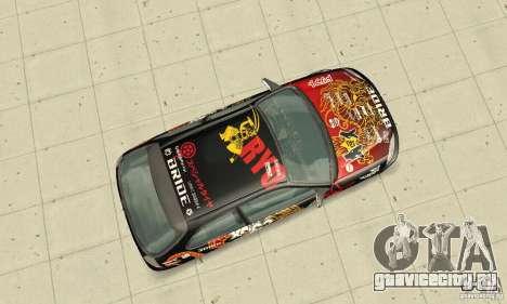 Honda-Superpromotion для GTA San Andreas вид справа