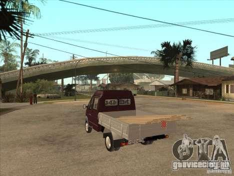 ГАЗ 33023 для GTA San Andreas вид сзади слева