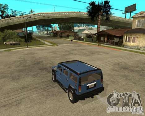 AMG H2 HUMMER для GTA San Andreas вид слева