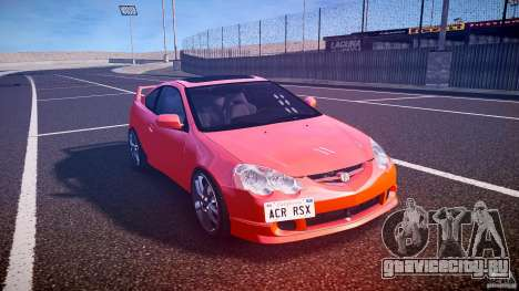 Acura RSX TypeS v1.0 stock для GTA 4 вид сзади
