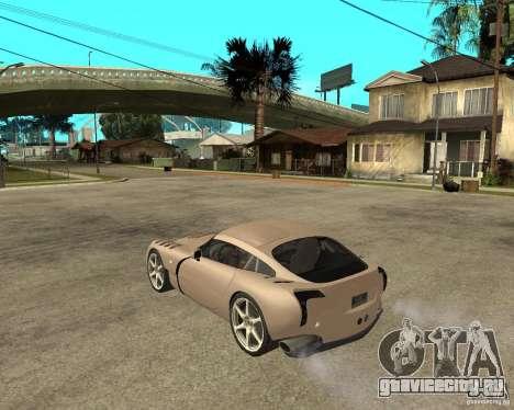 TVR Sagaris для GTA San Andreas вид слева