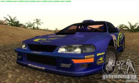 Subaru Impreza 22B для GTA San Andreas