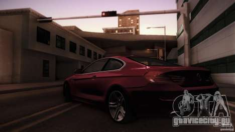 BMW 640i Coupe для GTA San Andreas вид слева