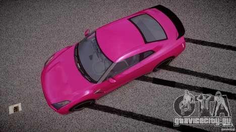 Nissan GTR R35 SpecV v1.0 для GTA 4 вид справа