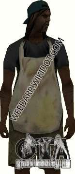 Человек сосиска для GTA San Andreas третий скриншот