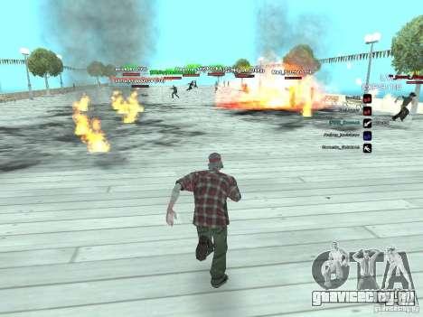 SA:MP 0.3d для GTA San Andreas пятый скриншот
