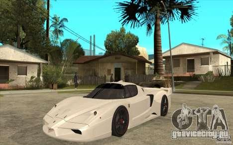Ferrari FXX 2005 для GTA San Andreas вид слева