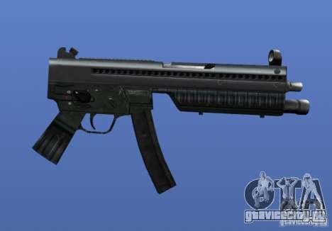 Heckler & Koch MP5 для GTA 4 четвёртый скриншот