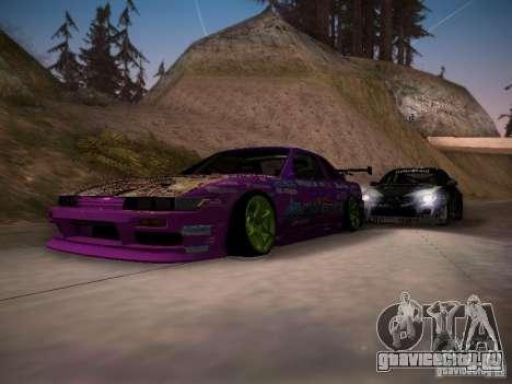 Nissan Silvia S13 Team Burst для GTA San Andreas салон