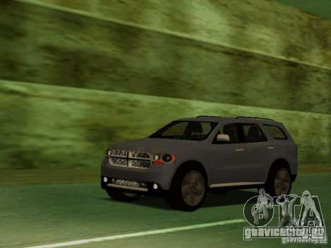 Dodge Durango 2012 для GTA San Andreas вид сбоку