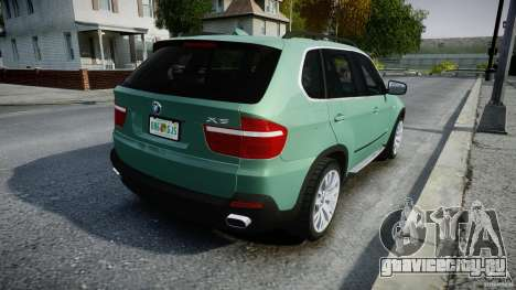 BMW X5 Experience Version 2009 Wheels 223M для GTA 4 вид сверху